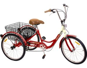 Komodo Cycling 6-speed Adult Tricycle 24 review