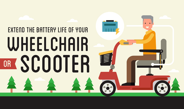 Extend the battery life of an electric scooter (#Infographic)